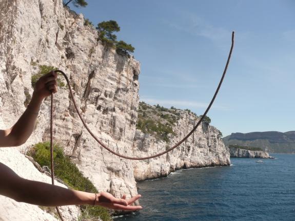 Comment ne pas mouiller sa corde grâce à du fil de pêche