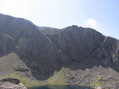 La falaise de Cloggy