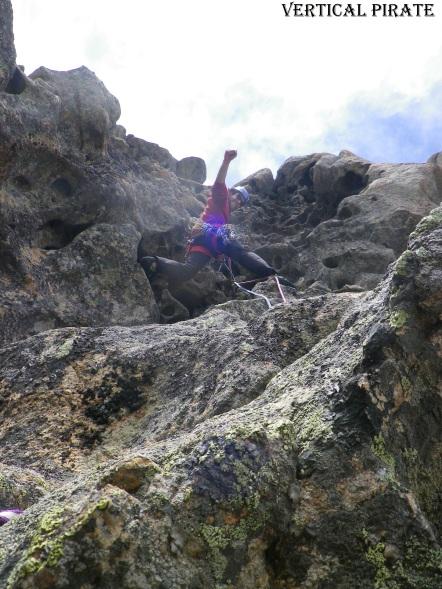 La grimpe y est un vrai bonheur!