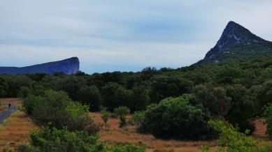 L'Hortus et le Pic Saint Loup, face à face