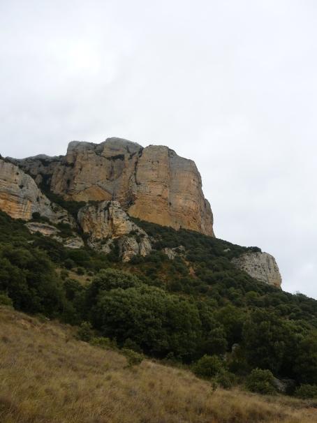 La Roca Alta vue de profil