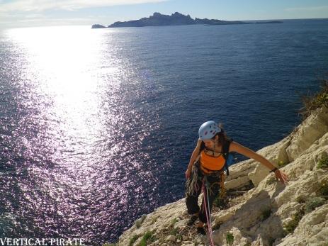 Fin de la première partie, face à l'île de Riou