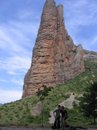 El Fire - Directa As Cima, dans un 6c