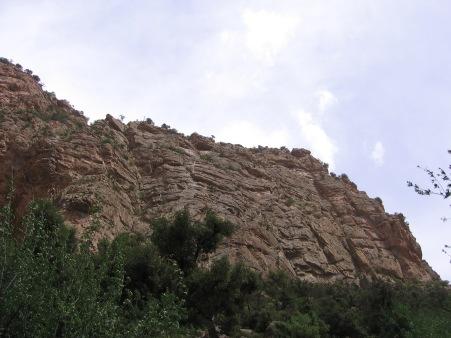 La falaise de Matchkour
