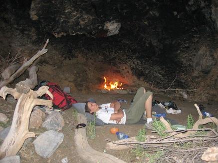 Bivouac sauvage dans l'Akka n'Tazarte