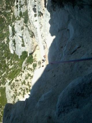 ambiance Cap Canaille: Du gaz, des vires sableuses...
