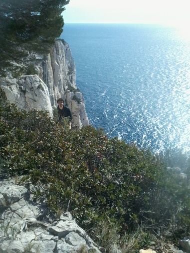 topo escalade calanques castelvieil swing