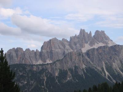 Les Dolomites, site historique et majeur