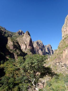 Le canyon...