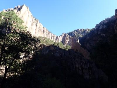 L'arête de la cascade - Basaseachi