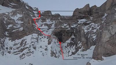Normale Sup - Face nord du col de l'Obiou